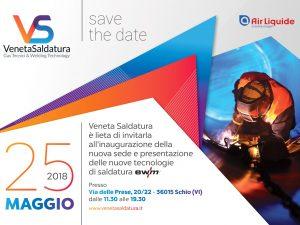 Venerdì 25 Maggio 2018  Inaugurazione nuova sede e presentazione nuove tecnologie EWM-AG